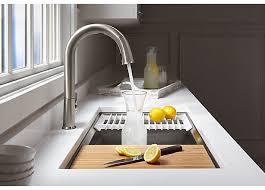 CES 2018 Kohler s New Sensate Kitchen Sink Faucet and DTV Shower