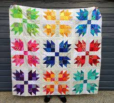 Bear Paw Quilt Pattern Fascinating Wendy's Quilts And More Scrappy Bear Paw Quilt Half Square