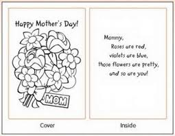 Easy Printable Mothers Day Cards Ideas For Kids Family Holiday Net