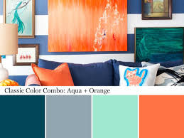Aqua Color Palette - Aqua Color Schemes | Orange color palettes ...