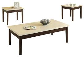 3 piece wooden occasional table set