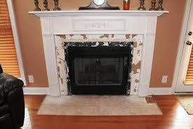 image of ugly brick fireplace makeover ideas