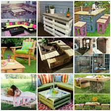 40 Wonderful Pallet Furniture Ideas And Tutorials Delectable Pictures Of Pallet Furniture Design