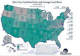Arizonas Combined Sales Tax Rate Is Second Highest In The