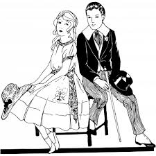 Vintage Illustration Couple 5 Graphic By Marisa Lerin Pixel