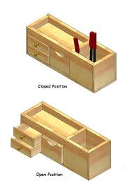 plans for wood desk organizers