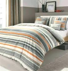 grey striped bedding blue yellow orange and sets black quilt