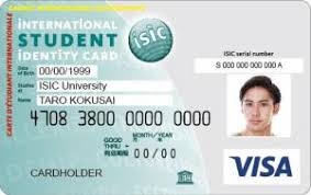 Isic The Card Visa Student Prepaid - Cards