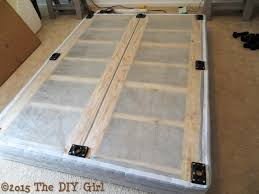 diy box spring new bed legs alternative to frame the diy girl with 14