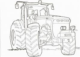 Dessin Tracteur Et Remorque Coloriage Gratuit A Imprimer L