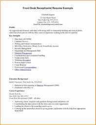 Front Desk For Medical Office Resume Receptionist Nursing 791x1024