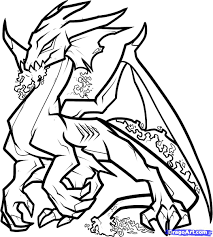 Coloring Book Good Realistic Dragon Pages 97 On Site With Page