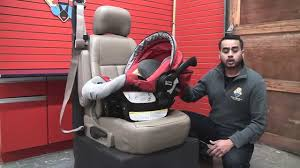 britax chaperone how to install the car seat without the base