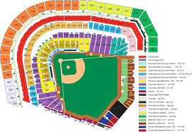 Miller Park Seating Chart Row Seat Number Miller Park Seating Chart At T Park Seating