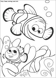 Finding Nemo Coloring Pages Finding Coloring Pages On Coloring