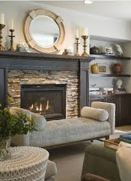 7 tips for designing an eye-catching fireplace - Bellacor | Stone, Stone  fireplace surround and Stacked stone fireplaces