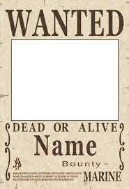 wanted photoshop template one piece wanted poster psd by akuma no mi bu on deviantart