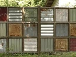 corrugated metal fence panels. 25 Best Ideas About Corrugated Metal Fence On Pinterest Con Siding Panels E