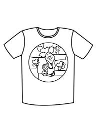 Miyagi, william zabka as johnny lawrence, and martin kove as sensei john kreese. T Shirt Coloring Pages Free Printable T Shirt Coloring Pages