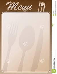 Menu Restaurant Stock Vector Illustration Of Dessert 32863617