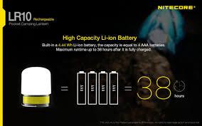 Lantern 250 Lumens Lr10 1200mah Li Ion Battery Usb