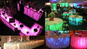 lighting to go. under table lights party decoration lighting to go t