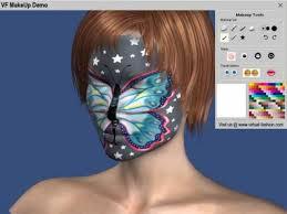 screenshot 1 of virtual fashion makeup