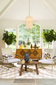 A styled sunroom by Jonathan Adler.