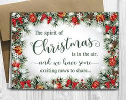 Christmas Notecard Christmas Notecards Etsy
