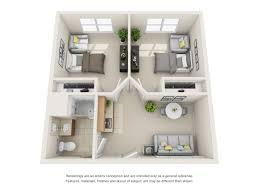 Floor Plans  Spring Ridge Assisted Living U0026 Memory CareAssisted Living Floor Plan