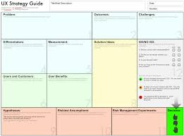 Ux Design Strategy Template This Ux Strategy Guide Helps Designers Make Better Decisions