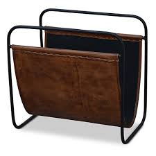 Brown Leather Magazine Holder Inspiration Magazine Holder Brown Leather The Block Shop