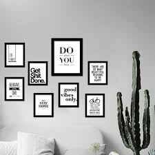 Inspirational Quotes Wall Art Canvas Print Modern Wall Painting  Motivational Prints Home Art Wall Decor , No Frames-in Painting &  Calligraphy from Home ...