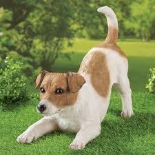 dog garden statue. Jack Russell Terrier Dog Garden Statue