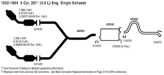 ford crown victoria police interceptor exhaust parts 99 grand am exhaust diagram at Grand Am Exhaust Diagram