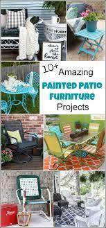 painted metal patio furniture. Painted Metal Patio Furniture