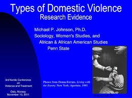 Ppt Types Of Domestic Violence Research Evidence