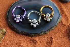 anium cbr s with crystal cers high quality body jewelry