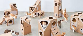card board furniture. A Cat Thing Creates Modular Cardboard Furniture Collection For Cats Card Board