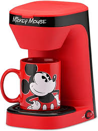 #chip and dale #coffee milk #cafe au lait #japan #disney coffee. Amazon Com Disney Mickey Mouse 1 Cup Coffee Maker With Mug Kitchen Dining