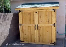 lawn mower storage box plans diy outdoor storage box ideas diy outside storage box