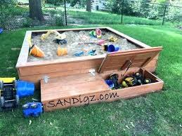 sandbox with cover sandbox sandbox picnic table sandbox with benches plans diy sandbox cover ideas
