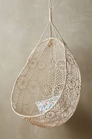 hanging chair. Slide View: 1: Knotted Melati Hanging Chair