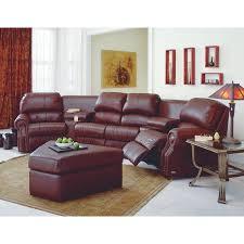 palliser charleston 41104 6 pc home theater seating tulsa ii russet