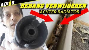 Behang Verwijderen Achter Radiator Youtube