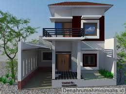 pilihan contoh desain rumah minimalis terbaik fimell