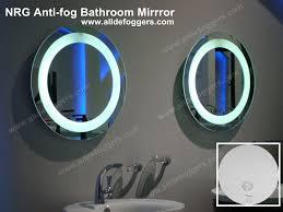Bathroom Mirror Demister Anti Fog Shower Shaving Mirror Anti Fog Shower Shaving Mirror