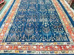 blue oriental rug fancy navy x tree of life area rugs red wool blue oriental rug