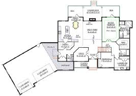 angled ranch style house plans house