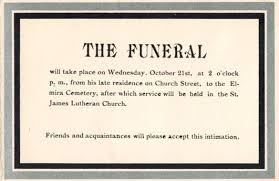 Funeral Words For Cards Adorable A Grave Interest Mourning Cards The Art Of Death